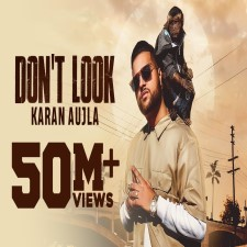 Don't Look Song Poster