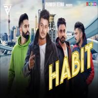 Habit Song Poster