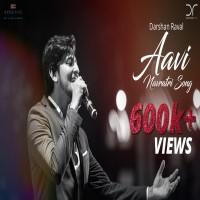 Aavi Navratri Song Poster
