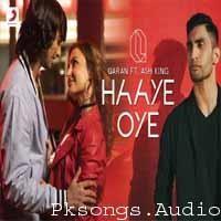 Haaye Oye Song Poster