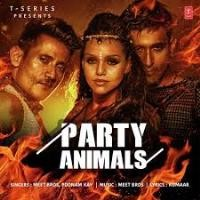 Party Animals Song Poster