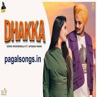 Dhakka Song Poster