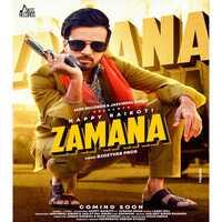 Zamana Song Poster