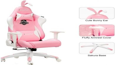 Photo of Online Top Quality Pink Gaming Chairs for Girls