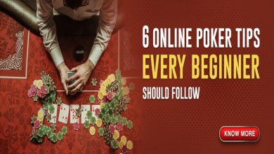 Photo of Follow the tips and learn about online poker