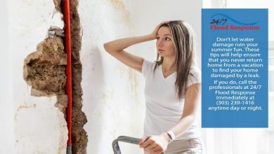 Photo of Important tips to avoid water damage