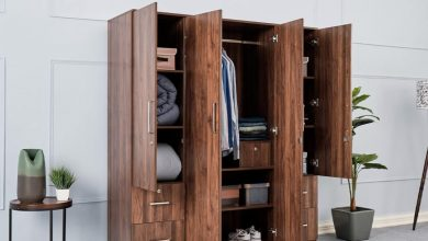 Photo of The Perfect Wooden Wardrobe Design With Mirror To Boost The Space Of The Bedroom