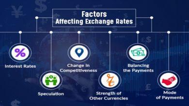 Photo of Factors influencing the exchange rates