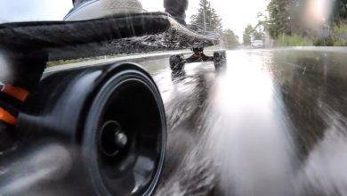 Photo of Can you ride an electric skateboard in the rain?